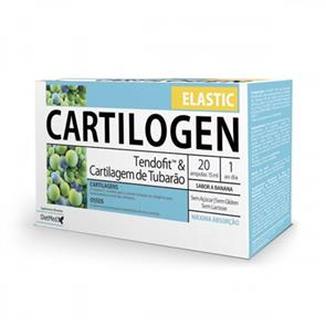 Cartilogen Elastic - 20 ampolas