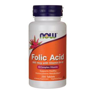 Folic Acid - NOW