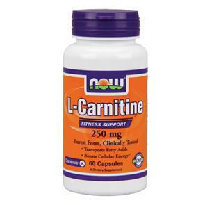 L-Carnitine 250mg - NOW