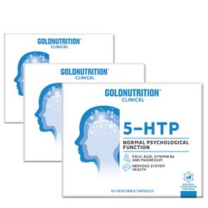 Pack 3 5-HTP GoldNutrition Clinical