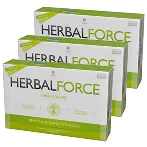 Pack 3 HerbalForce Ampolas
