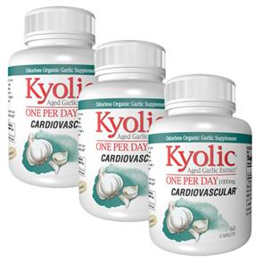 Pack 3 Kyolic One Per Day (1000 mg) - Alho