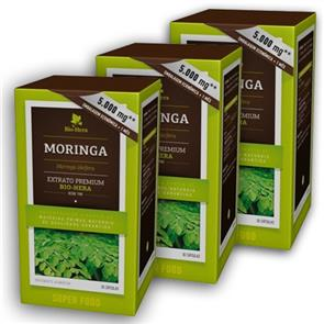 Pack 3 Moringa 5000mg 30 cáps.
