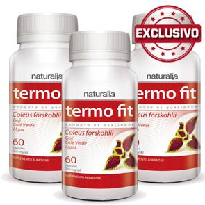 Pack 3 Termo Fit Naturalia