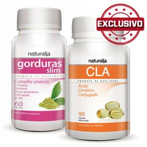 Pack Gorduras Slim + CLA Naturalia
