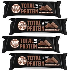 Total Bar Protein - 4 unid. - GoldNutrition