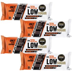 Total Protein Bar Low Sugar - 4 unid. - GoldNutrition