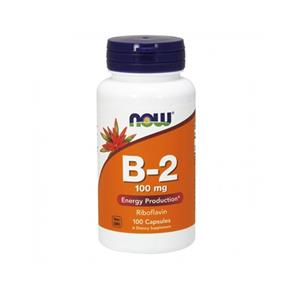 Vitamin b-2 (riboflavina) - NOW